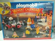 Playmobil 9486 Advent Calendar 76pc Construction Rescue Age 4+ - New And Sealed