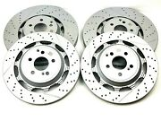 Mercedes S63 And S65 Amg Front And Rear Brake Rotors Set - High Quality