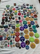 Large Vintage Huge Lot Of Buttons Pins Rare