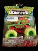 New 2020 Monster Jam Zombie Invasion Special Edition Blue Thunder 164 Scale