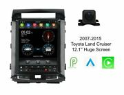 Gps Android 12.1 Navigation Player Bluetooth Radio Stereo W Camera For Toyota