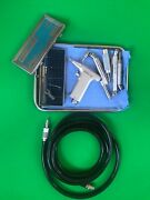 Hall Zimmer Micro 100 Pneumatic Drill Saw Set With Hose And Attachments And More