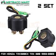 Starter Relay Solenoid For Honda 250 Trx250 Fourtrax Recon Big Red Atc125 Atc250