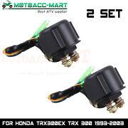 Starter Relay Solenoid For Honda 250 Trx250 Fourtrax Recon Big Red 1997-2004 Atc