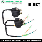 Starter Relay Solenoid For Honda Fourtrax Sportrax Recon Big Red Atc125 1997-04