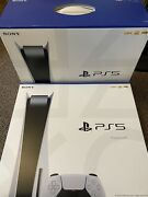 Sony Playstation 5 Ps5 Console Disc ✅in Hand Ready To Ship✅