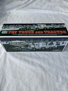 2013 Hess Toy Truck And Tractor - Mint In Box Never Removed Collectors Edition