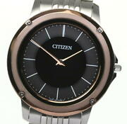 Citizen Eco Drive One Ar5050-58e Solar Powered Menand039s Watch_576809