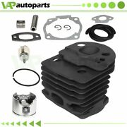 For Husqvarna 50 51 55 Rancher Chainsaw 46mm Cylinder Piston Mounting Kit