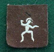 Vintage Girl Scout - Brownie Six Emblem -white Fairy 1928-1937