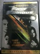 The Fast And The Furious Collector's Wscr Edition Pg-13, Paul Walker, Vindiesel