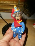 Midwest Of Cannon Falls, Penny Mcallister Circus Bear Ornament
