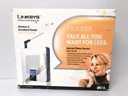 Linksys Wrtp54g 3 Mbps 4-port 10/100 Wireless G Router 2 Phone Lines