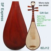 Xinghai Professional Chinese Lute Pipa Traditional String Instrument 8dj12