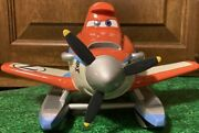"""Disney Cars Planes Fire And Rescue Dusty Coin Bank, Diecast Metal 5""""h 9""""w 8.5""""l"""