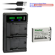 Kastar Battery Ltd2 Charger For Casio Np-70 Bc-70l And Casio Exilim Zoom Ex-z250pk