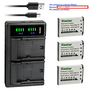 Kastar Battery Ltd2 Charger For Casio Np-70 Bc-70l And Casio Exilim Zoom Ex-z250sr