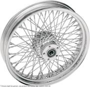 Roue Arriandegravere 18x5.5 80 Rayons Chrome - Harley Davidson Softail - Drag Special...