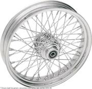 Roue Arriandegravere 17x6 60 Rayons Chrome - Harley Davidson Softail - Drag Specialties