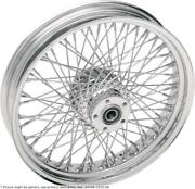 Roue Arriandegravere 17x6 80 Rayons Chrome - Harley Davidson Softail - Drag Specialties