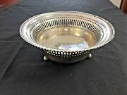 Towle Sterling Silver Footed Art Deco Bowl - 4783 E - 140 Grams Not Scrap