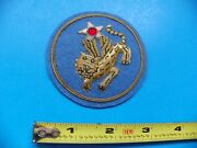 U.s. Army Air Corp 14th Officers Embroidered Jacket Patch-no Glow