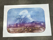 The Old Homestead Roy Purcell Limited Art Print 1/2 Signed