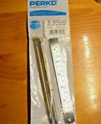 2 Tiges Laiton Pour Filtre Perko Strainer Rods + Nut + Washers