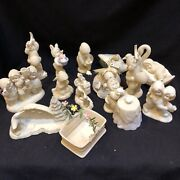 Dept 56 Snowbabies Lot Of 13 Various Figurines All In Excellent Condition