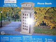 Creatology 3d Wooden Puzzle Phone Booth Telephone Booth 3-d