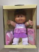 Cabbage Patch Kids Babies Jaylene Audreya With Birth Cert. And Accessories New