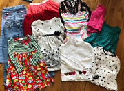 Girls 5 6 Clothing Lot Gymboree Bonnie Jean Mixed Lot School Fall Winter Holiday