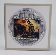 2013 Cook Islands Liberty Leading The People Masterpieces Of Art Ag Coin 20