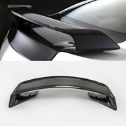 New M-style Rear Spoiler With Base Wing For Nissan Skyline R35 Gtr Carbon Fiber