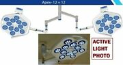 Dual Apex 12+12 Examination And Surgical Led Light Operation Theater Light Or Lamp