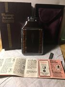 Vintage Ronson Mastercase Lighter And Cigarette Case Art Deco Style With Box