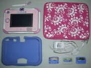 V-tech Innotab 3s System, Carrying Case, Cover, 3 Games And Plug