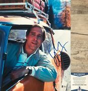Clark Griswold Chevy Chase Signed National Lampoon's Vacation 11x14 Photo Bas