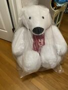 Huge Limited Edition Coca Cola Bear Over 3 Feet. Perfect For Any Collection