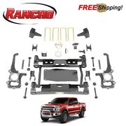 Rancho 4.5 Complete Suspension System Lift Kit Fits 2017-2020 Ford F150 4wd