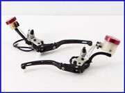 2009 Ducati 848 Brembo Semi Radial Front Brake And Clutch Master Set Active Lever