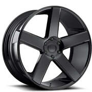 26and039and039 Dub Baller S216 Gloss Black With Tires Fit Escalade Gmc Sierra Silverado Xl