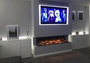 Evonic Fires E 1500 Electric Inset Mounted Electric Fire Not Gas Left Over Unit