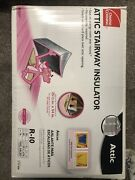 Attic Stair Insulator Tent Cover Rated 25.5 In. R-10 Owens Corning