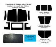 1948 - 1950 Dodge Truck Interior Complete Acoustic Insulation Kit