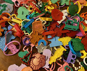 Lot Plastic Cookie Cutters Tools Animals Cars Christmas Easter Valentine 154