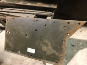 Half Track Wwii Armored Car Nos Left Lower Armor Plate Under The Cab Door