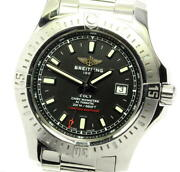 Breitling Colt A17388 Black Dial Automatic Menand039s Watch_576352