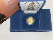 Mayflower 400th Anniversary Gold Reverse Proof Coin Order In Hand