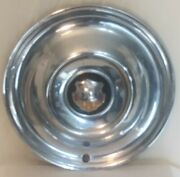 Vintage 1950and039s Oldsmobile 15 Hub Cap/wheel Cover - Great Shape And Color